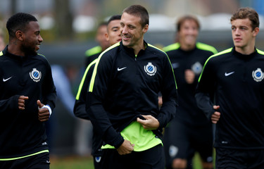 Football Soccer - Club Brugge training - UEFA Champions League