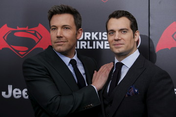 Cast members Affleck and Cavill attend New York premiere of 'Batman V Superman: Dawn Of Justice' at Radio City Music Hall in New York
