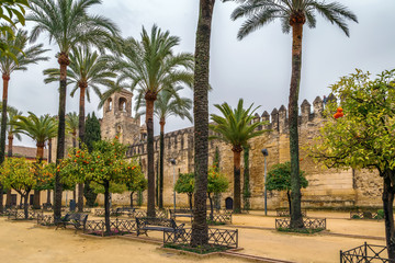 Alcazar of Cordoba, Spain