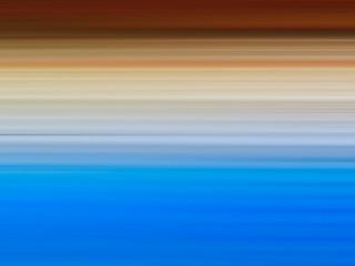 Horizontal sea and sunset bokeh background