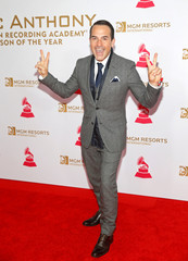 Mexican actor Carlos Calderon arrives for the Latin Grammy Person of the Year dinner and concert honouring Marc Anthony in Las Vegas