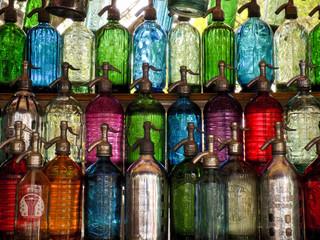 Seltzer bottles at the San telmo Fair