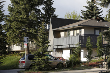 The community of St. Andrews Heights, where U.S. Senator Ted Cruz reportedly grew up, is pictured in Calgary