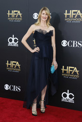 Laura Dern arrives at the Hollywood Film Awards in Hollywood
