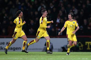 Brentford v Burnley - Sky Bet Football League Championship