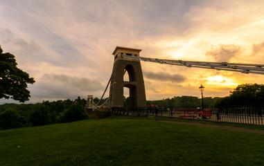 Bristol Clifton Suspension Bridge at Golden Hour B