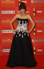 South Korean actress Ryoo poses for the media at the 8th Korea Film Awards in Seoul