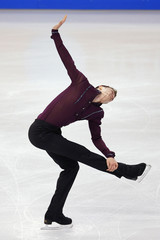 Jeremy Abbott competes in the men's short program competition at the U.S. Figure Skating Championships in Boston, Massachusetts