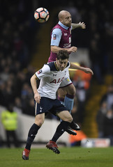 Tottenham's Ben Davies in action