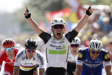 Cycling - The Tour de France cycling race - Stage 1 from Mont Saint-Michel to Utah Beach Sainte-Marie-du-Mont