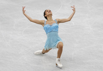 Norway's Anne Line Gjersem competes during the women's short program at the ISU World Figure Skating Championships in Saitama