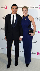 Talk show host Handler and Balazs arrive at the 2013 Elton John AIDS Foundation Oscar Party in West Hollywood