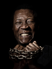 Black Man In Chains