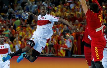 Men's Handball - Angola v Macedonia - 2017 Men's World Championship Main Round - Group B