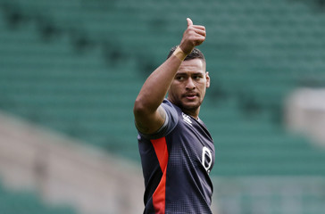 England's Ben Te'o during training