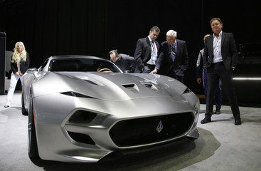 Fisker and Lutz  introduce the 2016 Fisker V10 Force 1 during the official launch of VLF Automotive at the North American International Auto Show in Detroit