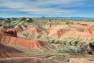 Charyn canyon in desert of Kazakhstan