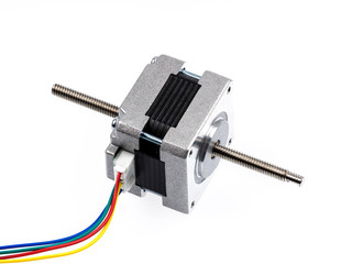 A linear stepper motor (actuator) creates translational motion with the simple operation of a stepper motor