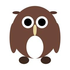 illustration of Cartoon owl