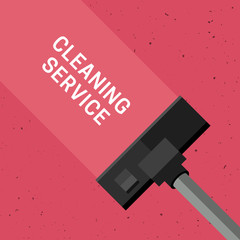 Cleaning service banner