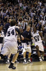 Butler Bulldogs Howard celebrates his game-winning shot against Old Dominion Monarchs during their NCAA tournament game in Washington