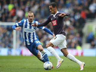 Brighton & Hove Albion v Derby County - Sky Bet Football League Championship