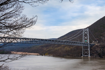 Bear Mountain Bridge in New York State