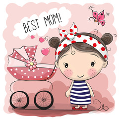 Greeting card Best mom