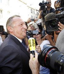 Bouches-du-Rhone General Council President and Socialist party member Guerini arrives at the Marseille's courthouse