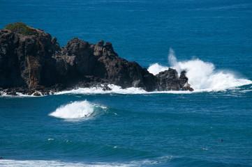 Vague et surf glisse