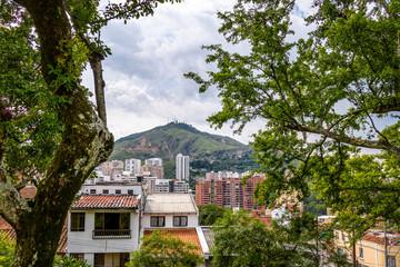 Hill of Three Crosses (Cerro de Las Tres Cruces) and Cali city view - Cali, Colombia