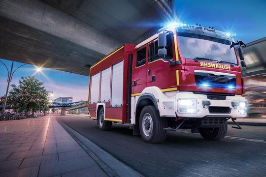 Feuerwehr Einsatzfahrt