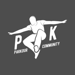 parkour and free running badges