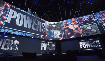 """House, president and group chief executive officer of Sony Computer Entertainment, presents the exclusive digital video series """"Powers,"""" in Los Angeles"""