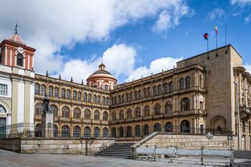 School Building close to Bolivar Square - Bogota, Colombia