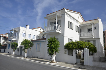 Route vers Pythagorion (Samos)