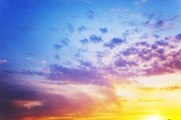 summer  clouds   sunset