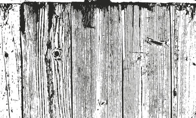 Distressed overlay wooden planks texture
