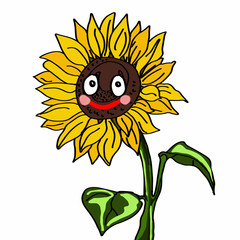 cute sunflower