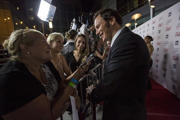 """Cast member Wilson is interviewed at a screening of FX Networks' television series """"Fargo"""" in Los Angeles"""