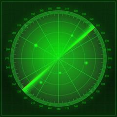 radar abstract icon symbol vector illustration