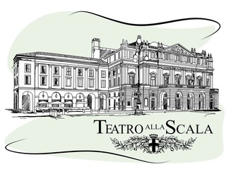 Teatro alla Scala is an opera house in Milan, Italy.