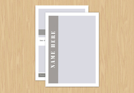 Modeling Business Card Layout 11
