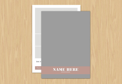 Modeling Business Card Layout 9