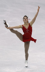 Szmiett of Canada performs during the ladies short program competition at the ISU Four Continents Figure Skating Championships in Jeonju