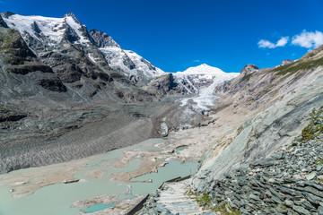 Gipfel Großglockner mit seinem Pasterzengletscher
