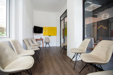 Small conference room for business meetings