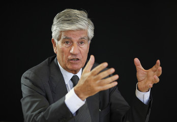Maurice Levy, French advertising group Publicis Chief executive, attends a Reuters Global Media and Technology Summit in Paris
