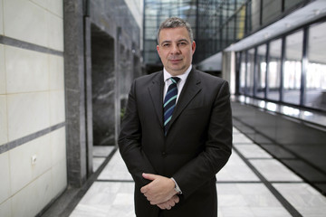 INA's Chief Executive Zoltan Aldott poses for the picture in Zagreb