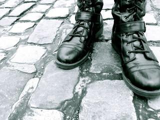 Boots on Cobblestone